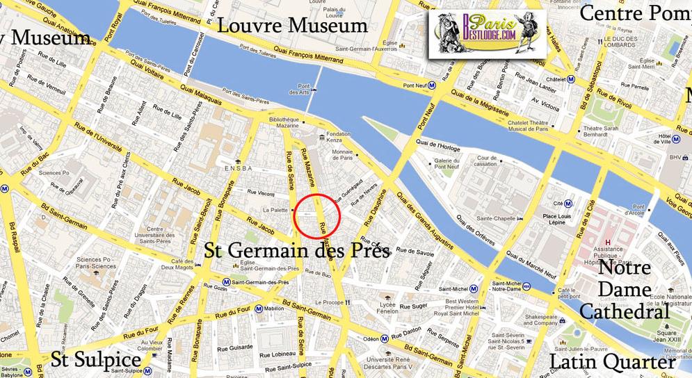 Paris Apartments Studio St Germain St Germain Des Pres