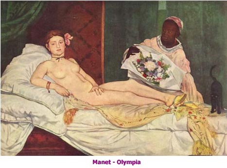 olympia manet musee d'orsay
