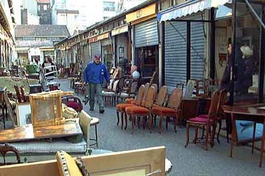 Paris mysterious puces de saint ouen flea market paris informations description guide - Metro porte de clignancourt ...