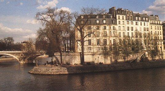 Paris mysterieux l 39 ile st louis description histoire - Ile saint louis histoire ...