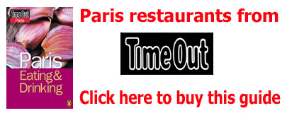 restaurants of paris
