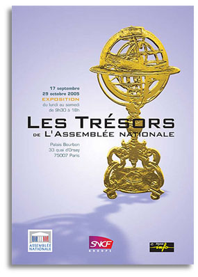 tresors de l'assemblée nationale paris