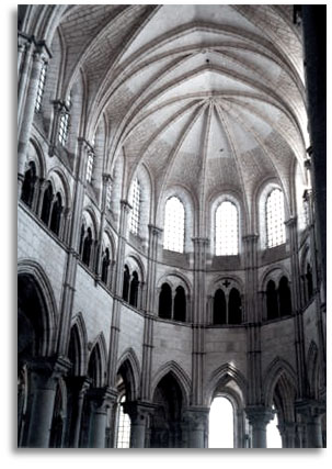 vezelay burgundy cathedral